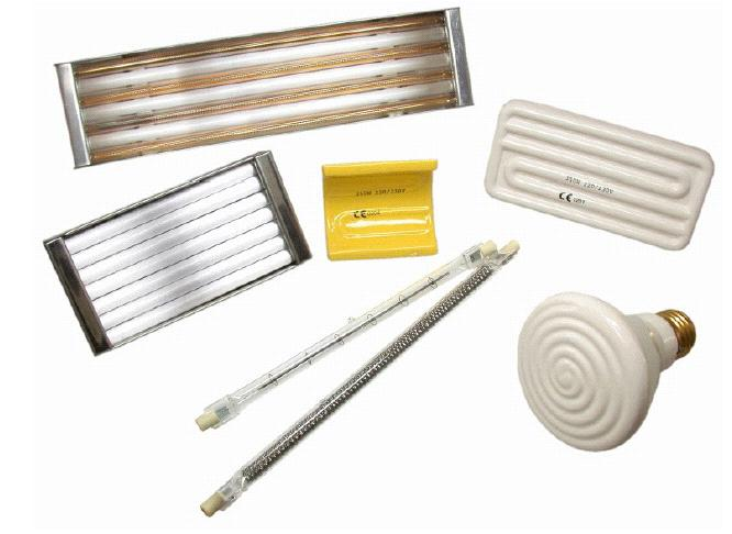 инфракрасный нагреватель керамический  электрический