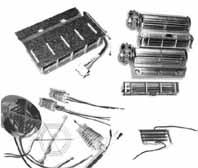Нагревательные элементы для сушильных аппаратов со слюдяной поддержкой